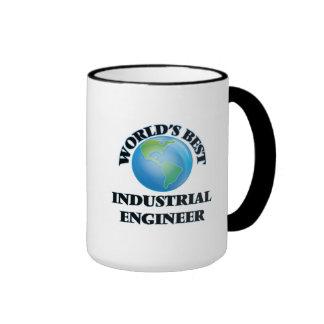 World's Best Industrial Engineer Ringer Coffee Mug