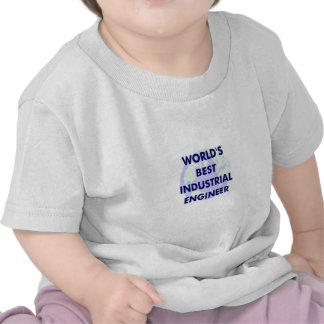 WOrld's Best Industrial Engineer Tee Shirt