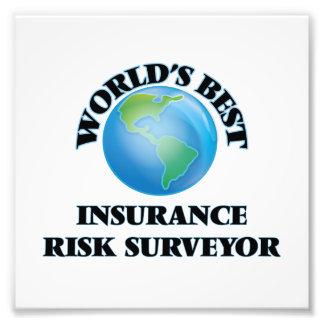 World's Best Insurance Risk Surveyor Photographic Print