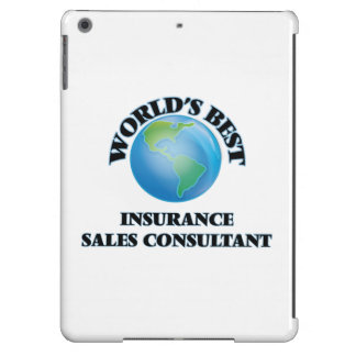 World's Best Insurance Sales Consultant Cover For iPad Air