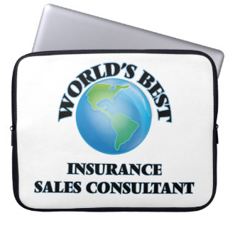 World's Best Insurance Sales Consultant Laptop Computer Sleeves