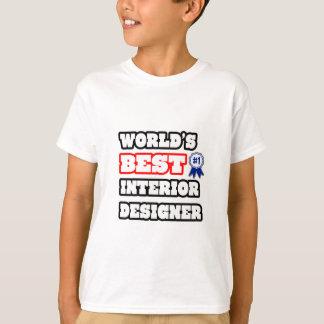 World's Best Interior Designer T-Shirt