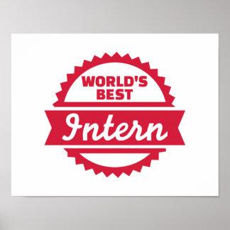 World's best Intern Poster