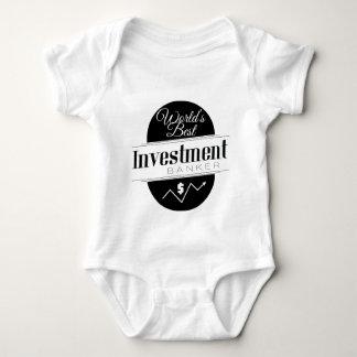 World's Best Investment Banker Baby Bodysuit