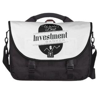 World's Best Investment Banker Computer Bag