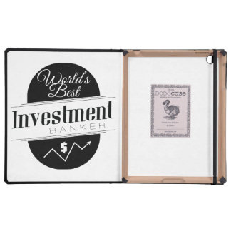 World's Best Investment Banker iPad Cover