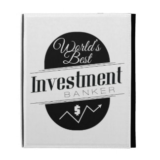 World's Best Investment Banker iPad Folio Cases