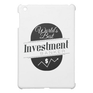 World's Best Investment Banker iPad Mini Cover