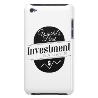 World's Best Investment Banker iPod Touch Case