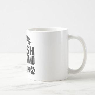 World's Best Irish Wolfhound Grandpa Classic White Coffee Mug