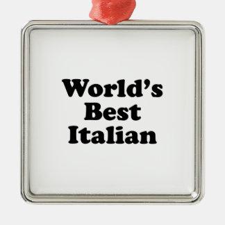 World's Best Italian Metal Ornament