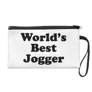 World's Best Jogger Wristlet Purse