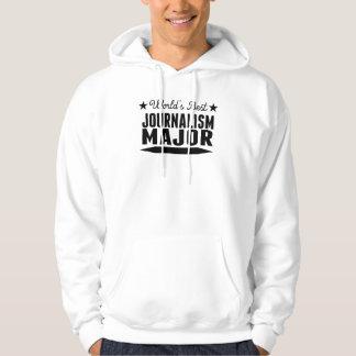 World's Best Journalism Major Sweatshirt