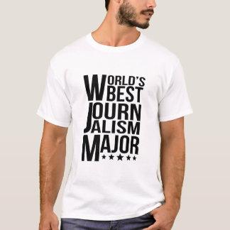 World's Best Journalism Major T-Shirt