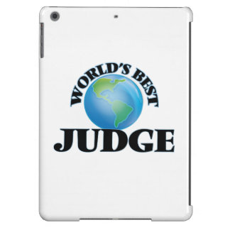 World's Best Judge Cover For iPad Air