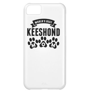 World's Best Keeshond Mom iPhone 5C Cases