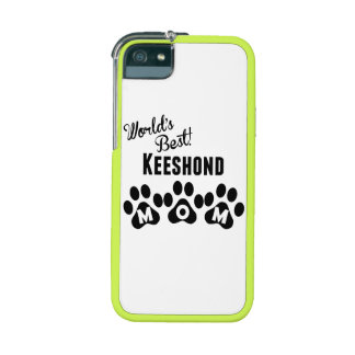 World's Best Keeshond Mom iPhone 5 Cases