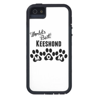 World's Best Keeshond Mom iPhone 5 Cover