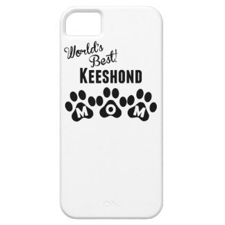 World's Best Keeshond Mom iPhone 5 Case