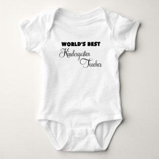 worlds best kindergarten teacher.png baby bodysuit