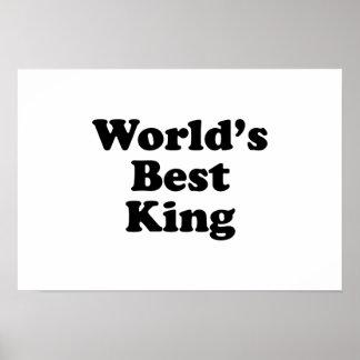 World's Best King Poster
