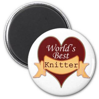 World's Best Knitter Magnet