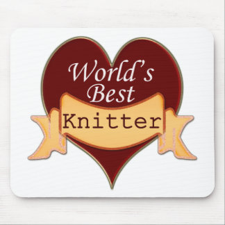 World's Best Knitter Mouse Pad