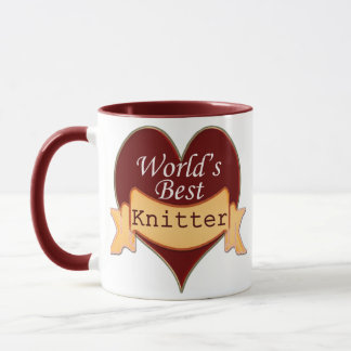 World's Best Knitter Mug