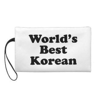 World's Best Korean Wristlet