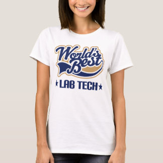 Worlds Best Lab Tech T-Shirt