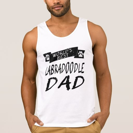 World's Best Labradoodle Dad Tank Tops Tank Tops, Tanktops Shirts