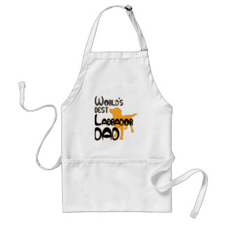 World's Best Labrador Dad! Especially for Lab-dads Adult Apron
