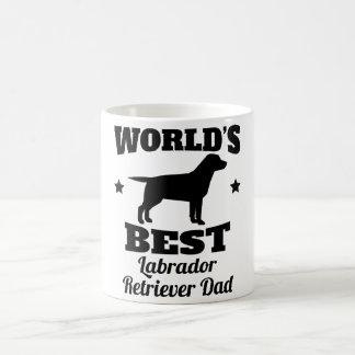 Worlds Best Labrador Retriever Dad Coffee Mug