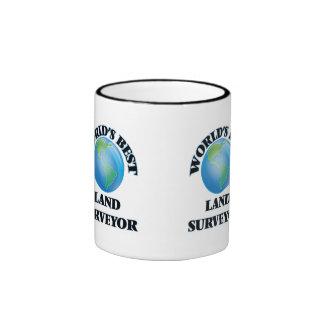 World's Best Land Surveyor Coffee Mug