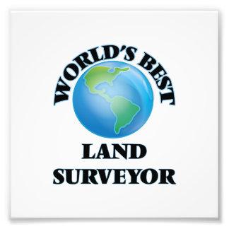 World's Best Land Surveyor Art Photo