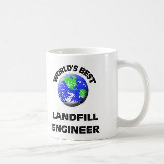 World's Best Landfill Engineer Classic White Coffee Mug
