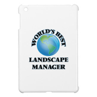 World's Best Landscape Manager iPad Mini Covers