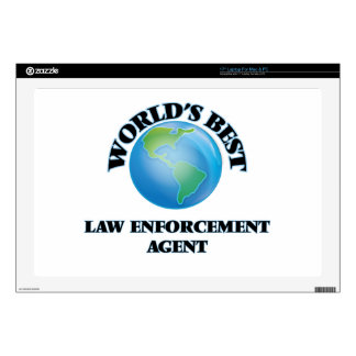 World's Best Law Enforcement Agent Skins For Laptops