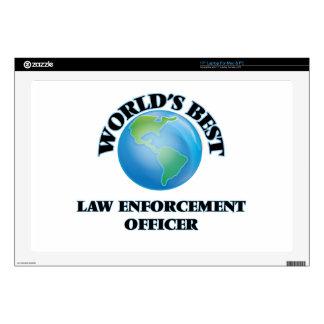 "World's Best Law Enforcement Officer Skin For 17"" Laptop"