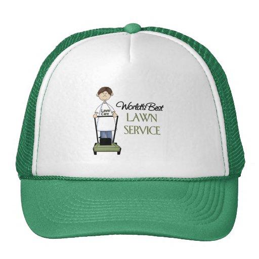World's Best Lawn Service Mesh Hat
