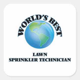 World's Best Lawn Sprinkler Technician Sticker
