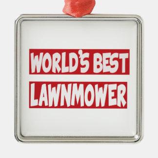 World's Best lawnmower. Christmas Ornament