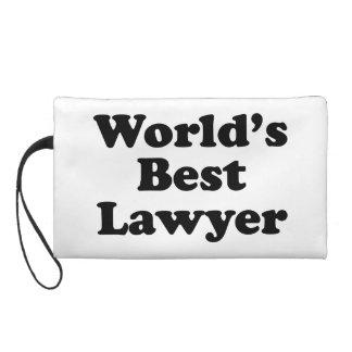 World's Best Lawyer Wristlet Purse