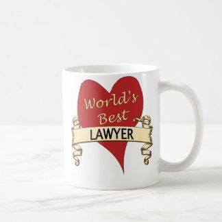 World's Best Lawyer Classic White Coffee Mug