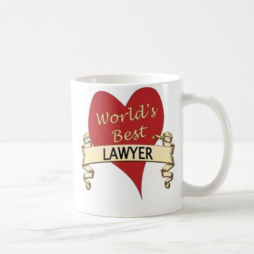 World's Best Lawyer Mug
