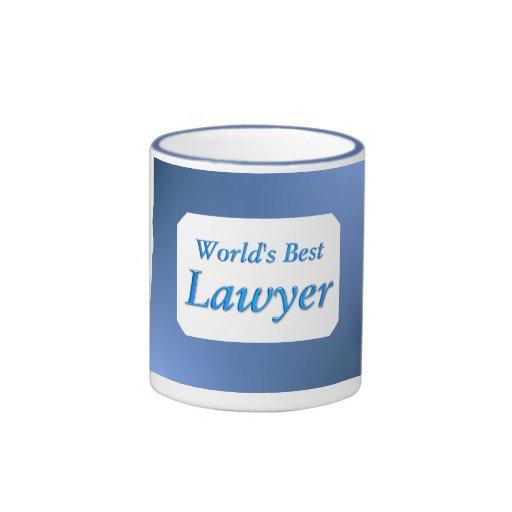 Worlds Best Lawyer Mug