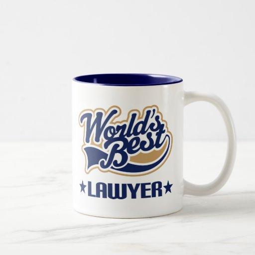 Worlds Best Lawyer Coffee Mugs