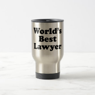 World's Best Lawyer Stainless Steel Travel Mug