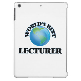 World's Best Lecturer Case For iPad Air