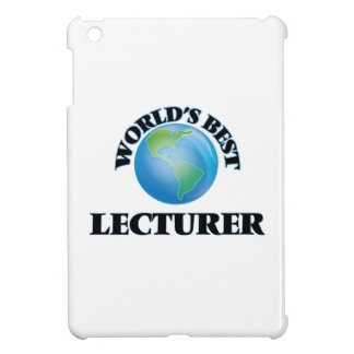 World's Best Lecturer iPad Mini Cover